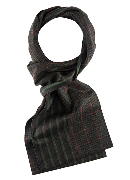 Noel - Margo Petitti Stripes,Scarves,patchwork - scarf