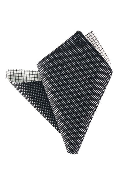 Margo Petitti reversible pocket square made in the usa