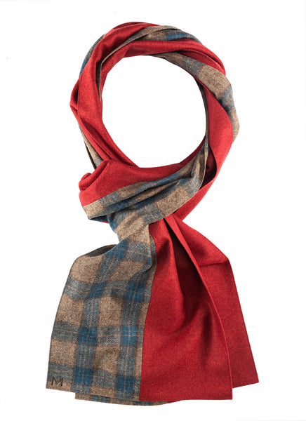 Taff - Margo Petitti Stripes,Scarves,patchwork - scarf