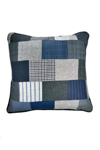 "Blue Pillow 23"" x 23"" - One of a Kind"