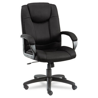 Alera® Logan Series Mesh High-Back Swivel/Tilt Chair