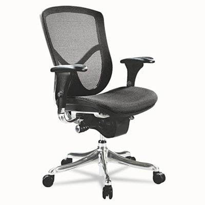 Alera® EQ Series Ergonomic Multifunction Mid-Back Mesh Chair