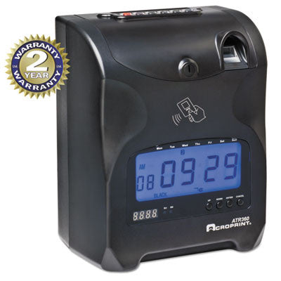 Acroprint® ATR360 Fingerprint Time Clock
