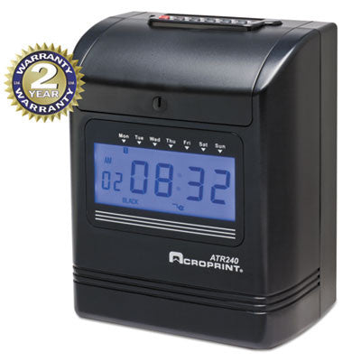 Acroprint® ATR240 Electronic Time Clock