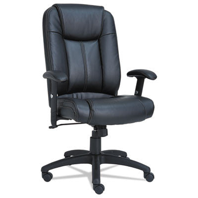Alera® CC Executive High-Back Swivel/Tilt Leather Chair