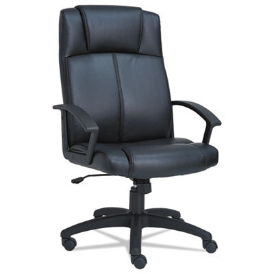 Alera® CL High-Back Leather Chair