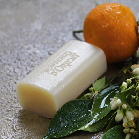 Orange Blossom Rough-Cut Bar Soap