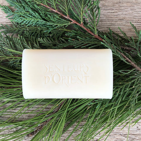 Cedar of Lebanon Rough-Cut Bar Soap