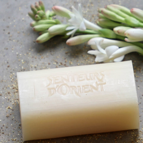 Tuberose Rough-Cut Bar Soap