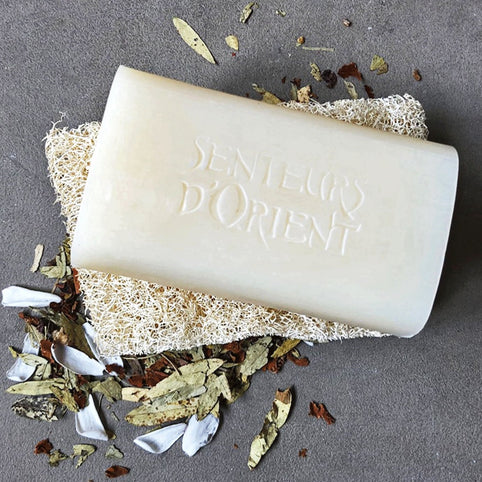 Tea Flower Rough-Cut Bar Soap