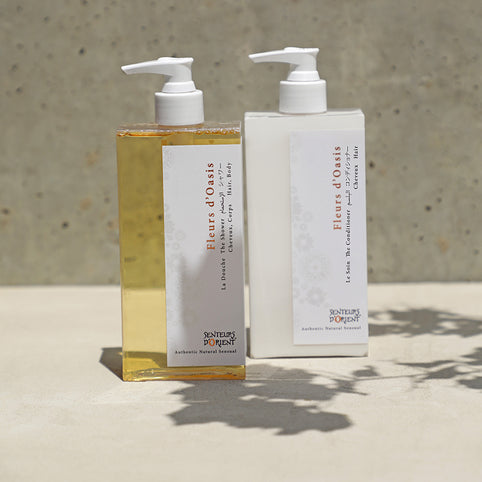 NEW - Hair Duo - The Shower & The Conditioner - Fleurs d'Oasis