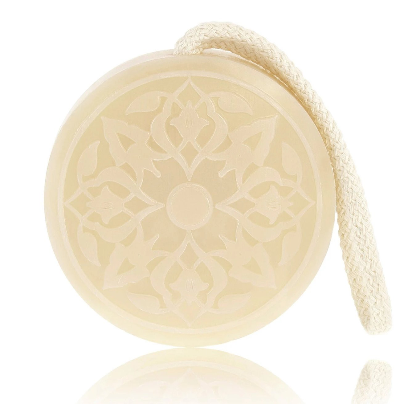 Orange Blossom Hammam Soap on a rope Senteurs d'Orient