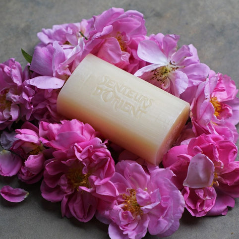 Rose of Damascus Rough-Cut Bar Soap