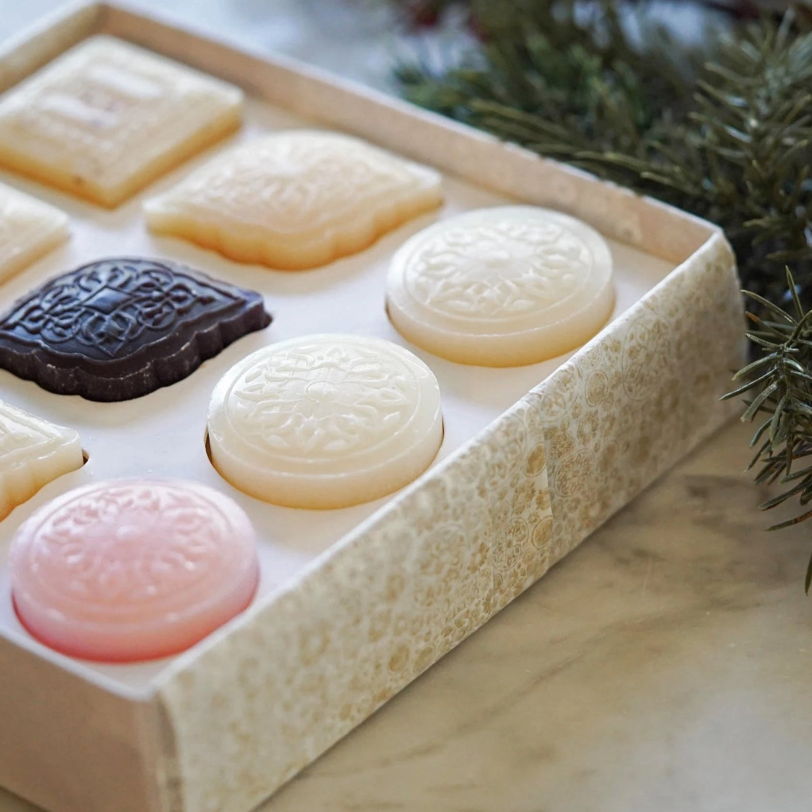 Tasting Box of 9 Mini Soaps