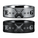 Tungsten Gunner's Mate Ring