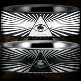 Tungsten Eye of Providence Ring