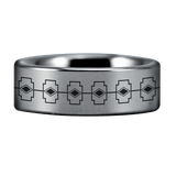 Tungsten Vikings Protection Ring