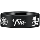 Tungsten Juggalo Ring