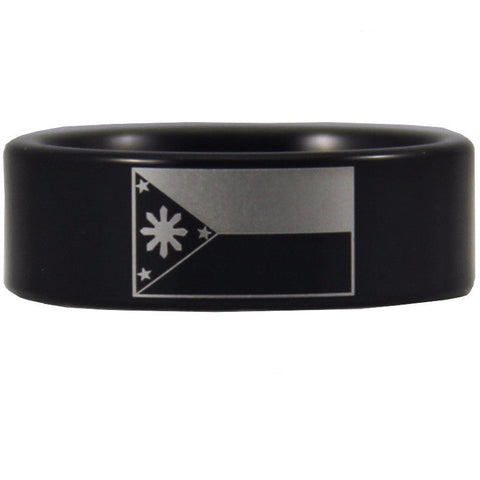 Black Tungsten Filipino Ring - Friends of Irony LLC