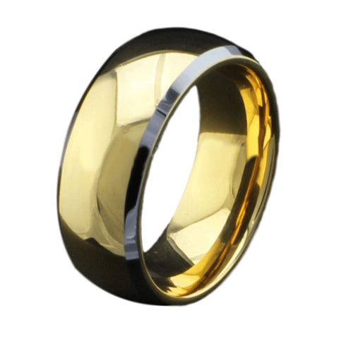 Jewelry - Gold & Silver Tungsten Wedding Ring
