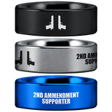 Tungsten 2nd Amendment Supporter Ring