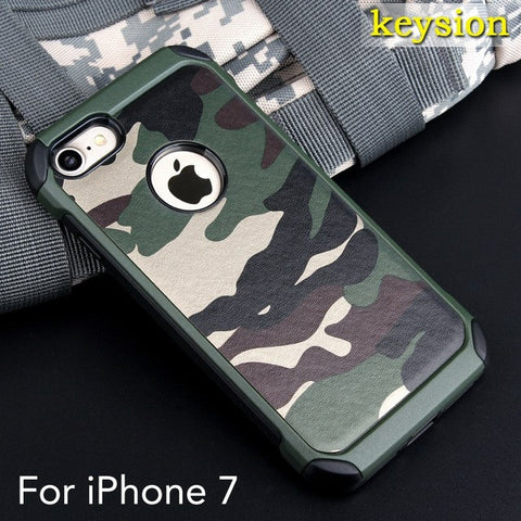Funda Keysion Camuflajeada Para iPhone 7/7Plus