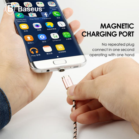 Baseus In Snap Series - Full Speed - Magnetico Cable MicroUSB - SupleNat - 1