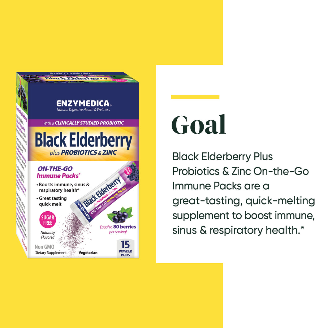 Black Elderberry plus Probiotics & Zinc