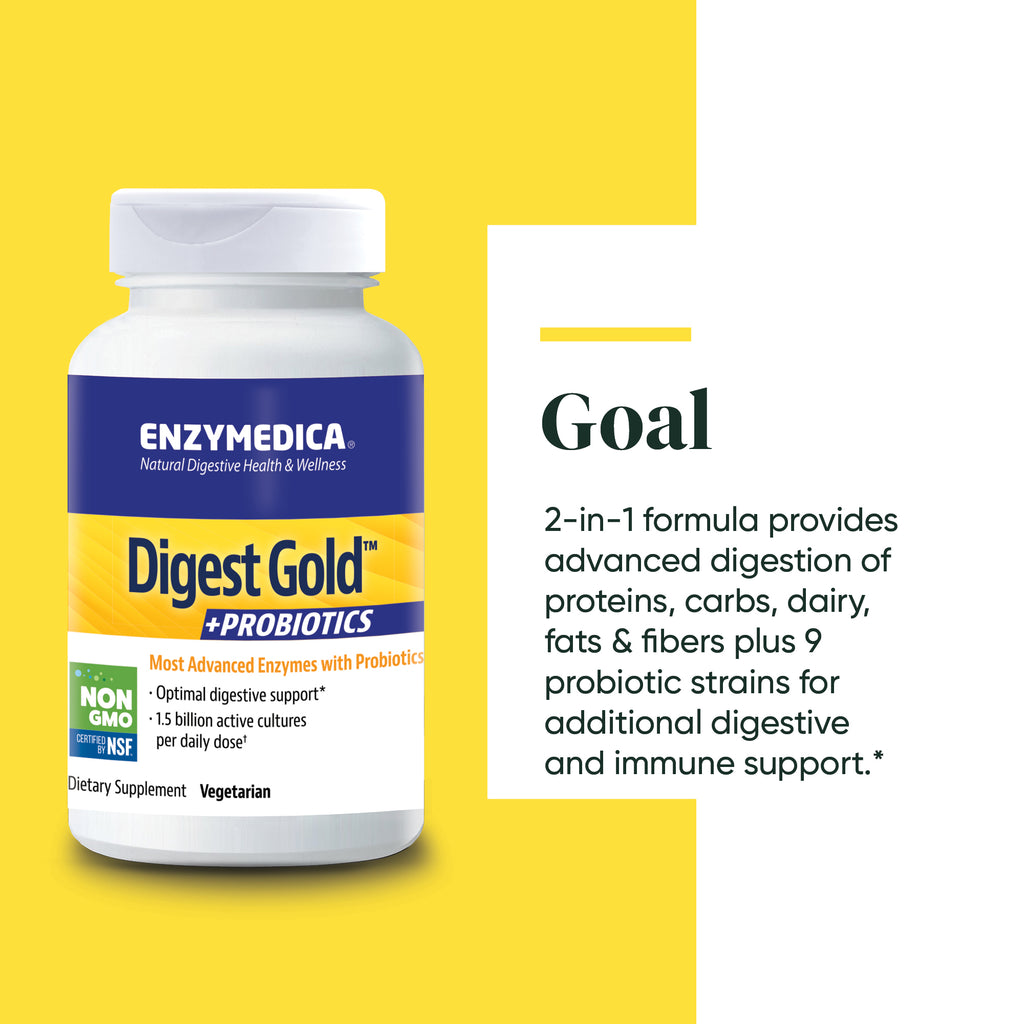 Digest Gold™ +PROBIOTICS