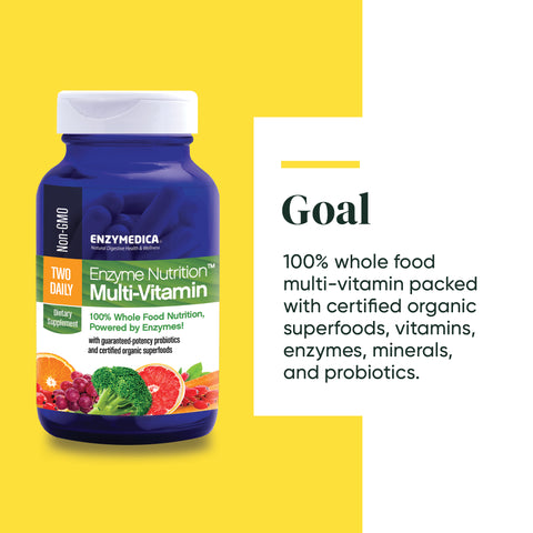 Enzyme Nutrition™ Multi-vitamin Two Daily