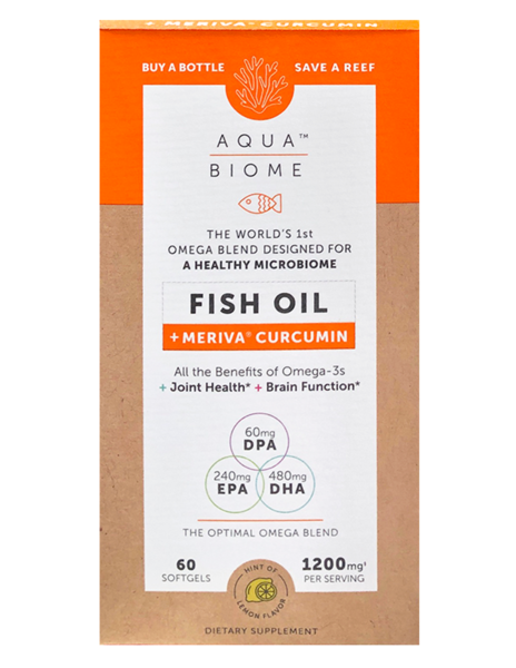 Aqua Biome™ Fish Oil Meriva Curcumin