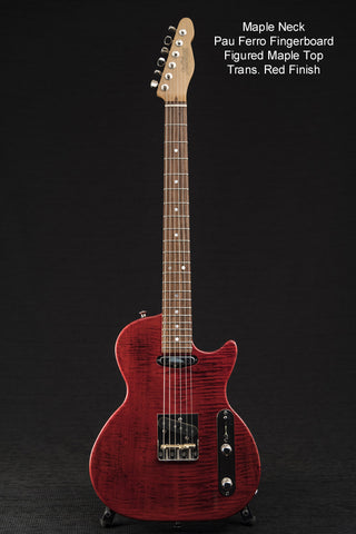 Bluesmaster Transparent Red w/ Gig Bag