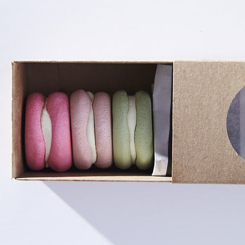 Three Macarons