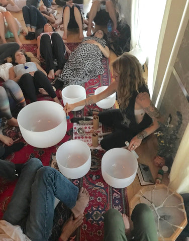 PRIVATE CRYSTAL SOUND BATH CONCERT