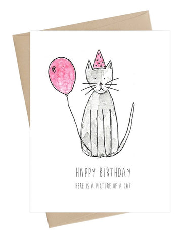 Bday Cat Card