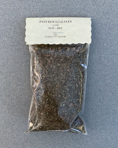 PATCHOULI LEAVES - 1/2 OZ
