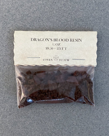 RESIN - DRAGON'S BLOOD - 1/2 OZ