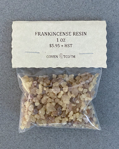RESIN - FRANKINCENSE - 1 OZ