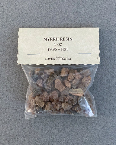 RESIN - MYRRH - 1 OZ