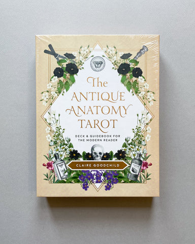ANTIQUE ANATOMY TAROT KIT