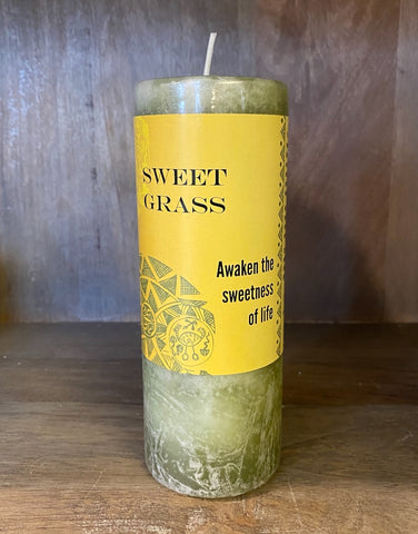 SWEETGRASS - XL CANDLE