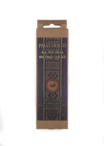 INCENSE - PALO SANTO AND WILD HERBS
