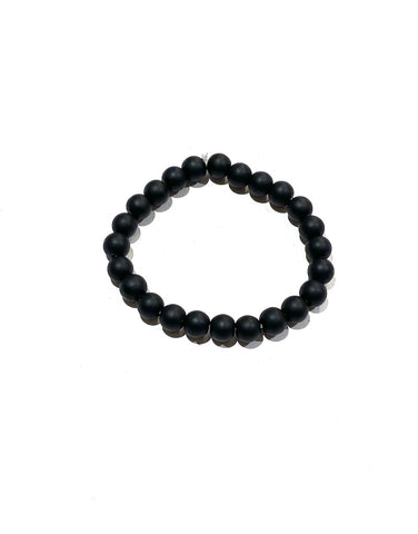 Obsidian Black - 8mm Matte Round