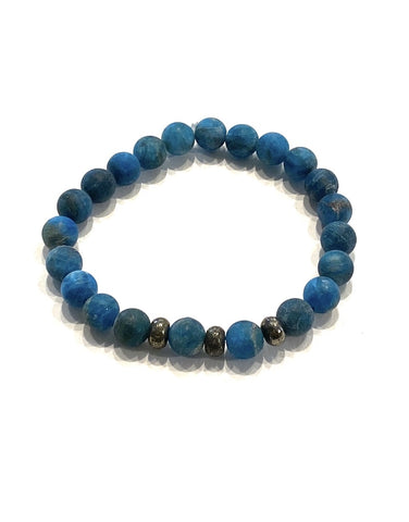 Apatite Blue + Pyrite Recipe