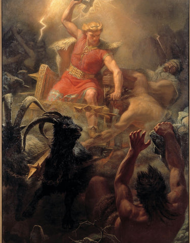 THE GODS OF NORSE MYTHOLOGY SEMINAR: JULY 18TH & 25TH 7 PM