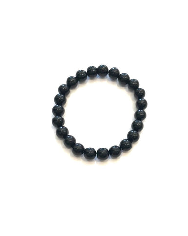 Obsidian Black - 8mm Round