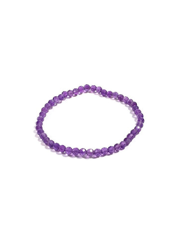Amethyst - 4mm Facet