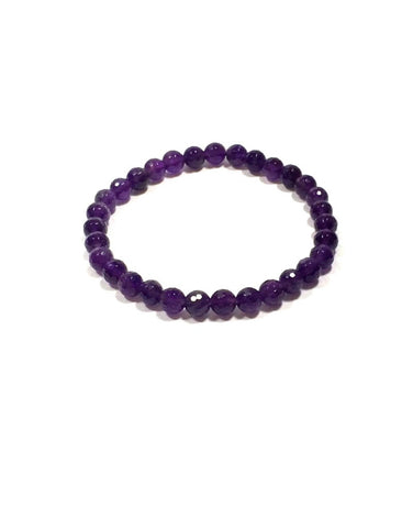 Amethyst - 6mm Facet