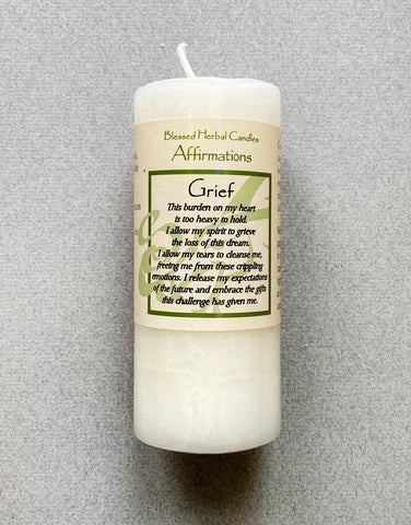 SPELL - SHORT CANDLE - GRIEF