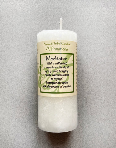 SPELL - SHORT CANDLE - MEDITATION